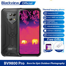 6,3 Blackview BV9800 BV9800 Pro 6+128GB Smartphone 48MP Drahtlose Ladung 6580mAh