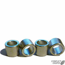 CUSCINETTO Distanziatori in lega 10mm Skateboard Longboard set di 4 ASSI Fit 8mm di diametro