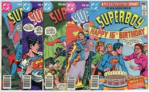 New Adventures of Superboy #1 - 20, 22 - 54  avg. NM-/NM 9.2/9.4  DC  1980