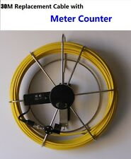 Sewer Drain Pipe Wall Inspection Camera - 30M Cable with Meter Counter
