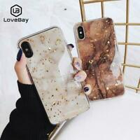 Lovebay Phone Case For iPhone 11 6 6s 7 8 Plus X XR XS Max Luxury Marble Gold