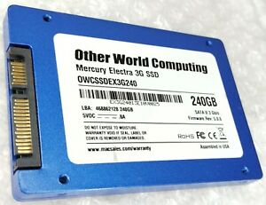 """240GB OWCSSDEX3G240 2.5"""" 9.5mm solid state drive SSD"""