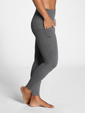 ATHLETA Salutation Stash Pocket Tight Leggings SP S P | Black Heather Grey FULL
