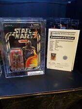 Star Wars Boba Fett Rocket Firing-Mail Exclusive UNCIRCULATED AFA CAS 90 90 90