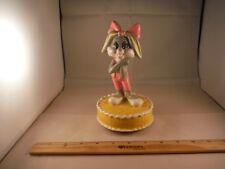 "Vintage Looney Tunes Bugs Bunny's Girlfriend Lola ""Someday My Prince"" Music Box"