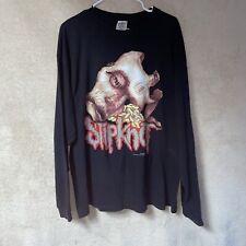 2000 Slipknot Maggot Face Long Sleeve Shirt