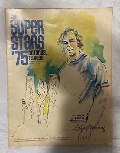 Vintage Program Superstars 1975 Rotonda Florida Lou Brock OJ Simpson Havlicek