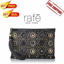 Rafe New York Women's Large Celia Clutch Retail Price 310$
