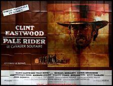 PALE RIDER Affiche Cinéma GEANTE 4x3 WIDE Movie Poster CLINT EASTWOOD