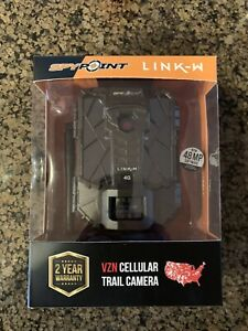 SPYPOINT LINK-W 4G Trail Camera Verizon Wireless 48MP Software