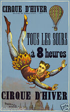 Circus Cirque D'Hiver France Stafford & Co Nottingham Poster 12x8 Inch Reprint