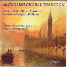 An English Choral Tradition Worcester Cathedral CD 13 Tracks, 70 Minutes / Choir