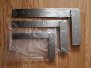 Engineers Tri Steel Set Square Set 6 Inch 10 Inch 12 Inch