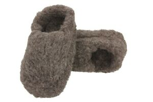 Warm 100 % Wool Slippers Boots Booties US 5-11, EUR 36 - 45