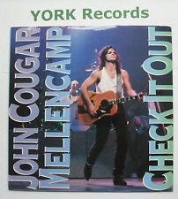 """JOHN COUGAR MELLENCAMP - Check It Out - Excellent Con 7"""" Single Mercury JCM 10"""