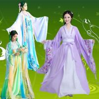 Retro Womens Costume Fairy Clothing Princess Hanfu Dress Stage Cosplay Bt15