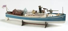 """Genuine, finely crafted wooden model ship kit by Billing Boats: the """"Renown"""""""