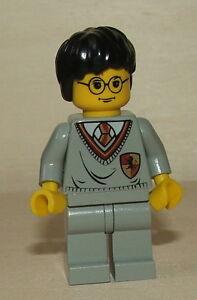 Nr.3503 Lego hp005 Minifig Harry Potter mit Gryffindor Oberteil hellgrau ALT
