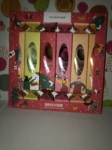 THE BODY SHOP HAND CREAM GIFT SET 6 HAND CREAMS RRP £5 EACH NEW