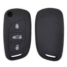 3 Button Silicone Key Cover Case For Citroen C4 DS4 DS5 Remote Fob Skin Shell