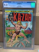 KA-ZAR #1, (1974), Marvel Comics CGC 9.2