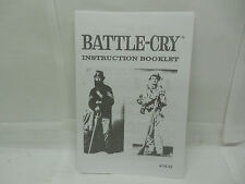 BATTLE CRY/CIVIL WAR GAME RULES BOOKLET(American Heritage)