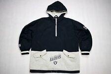 Los angeles raiders NFL chaqueta Windbreaker Jacket vintage 90s Football Campri S-M
