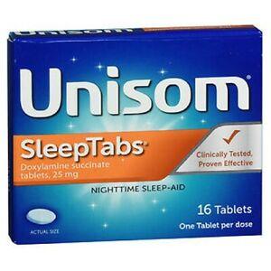 Unisom Nightime Sleep Aid 16 tabs by Unisom