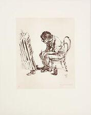 A. Paul Weber/Lithographie/ C´es la Vie /,Bleistift  signiert