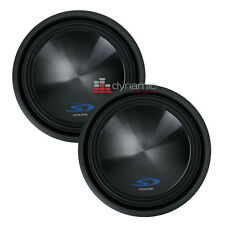 "Two (2) ALPINE SWS-15D4 Car Stereo 15"" Type-S Series Dual 4-Ohm Subwoofers New"