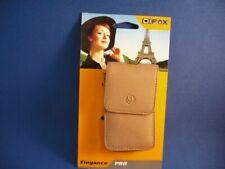 Kameratasche aus LEDER - DIFOX Elegance PRO 300, Farbe: cappuccino !