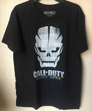 CALL OF DUTY - Black Ops -Men's Black T-Shirt Size Medium