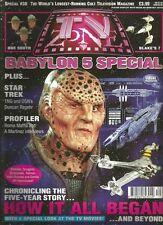 TV Zone August Sci-Fi Magazines