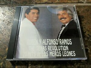 The Texas Revolution: 20 Hits de los Meros Leones by Ruben Y Alfonso Ramos (CD)