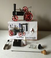 MAMOD LIVE STEAM TE1A K BLACK TRACTION ENGINE ~ INC. ACCESSORIES ~ UNFIRED