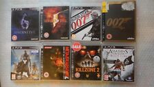 8 PS3 Games bundle,Resident Evil PS3,007 PS3,Destiny PS3,Assassins Creed PS3,MGS