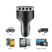 4-Port USB 12-24V / 4.2A Car Fast Charging Adapter Quick Fo Charger Best G9X5