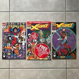 New Mutants #100 - X-Force #1, 2 (1991), 1st X-Force, 2nd Deadpool, Trading Card