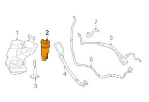MERCEDES BENZ S W221 Power Steering Reservoir  A2214660302 NEW GENUINE