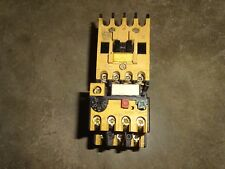 ALLEN BRADLEY 100-A09ND3 CONTACTOR WITH 193-BSB30 OVERLOAD RELAY