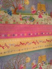 Fabric Magical Fairies 1040 border stripe, sold by the yard