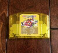 Nintendo N64 Mario Party 1 2 3 + 15 classic nes games US SELLER
