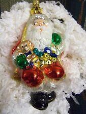 Polonaise Santa On Swing Ap 944 Ornament