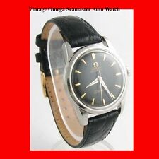 Mint Steel Omega SeaMaster Auto Gents Wrist Watch 1954