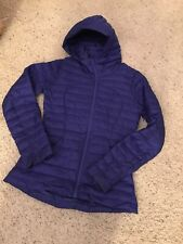 Lululemon PACK IT DOWN AGAIN JACKET SIZE 4 Blue LAZURITE Hooded
