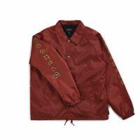 Brixton Mens Primo Jacket Burgundy Black M New