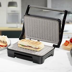 Sandwich Toaster Panini Press Health Grill 750W Non Stick Compact Size