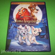 LA DAMA Y EL VAGABUNDO 2 DISNEY DVD NUEVO Y PRECINTADO