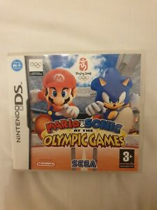 Mario & Sonic At The Olympic Games - Nintendo DS - Complete with Manual
