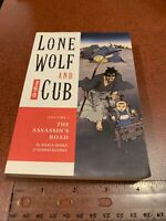 Lone Wolf And Cub Volume 1 English Manga The Assassin's Road Dark Horse